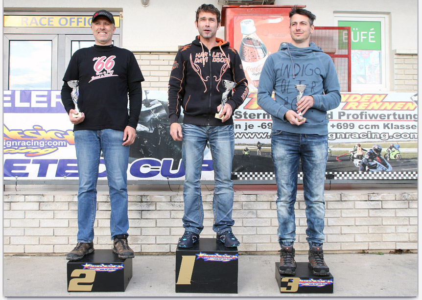 Der BIKE-CHECKER am Podium!